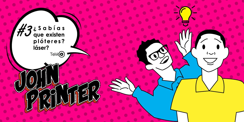 Las crónicas de John Printer Océ: ¿Sabías que existen plótteres láser?